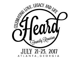 heard family reunion 2017 atlanta registration thu jul 20 2017