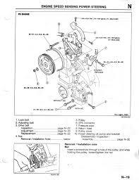 power steering pump repair info 1993 2002 2 5l v6 mazda626