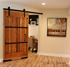 Barn Doors In House by My New Home Office Sliding Barn Door And More