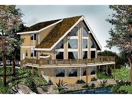 A Frame Plans Indian Grove Rustic A Frame Home Plan 015d 0107 House Plans And More