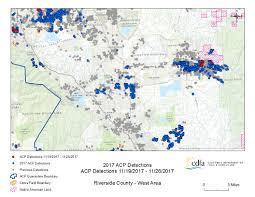 California Fault Map San Andreas Fault Earthquake Wakes Bernardino And Riverside At