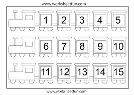missing numbers worksheets for kindergarten free missing acorns