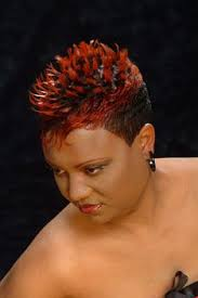show me hair styles for short hair black woemen over 50 130 best kapsels 37 rood zwart haar images on pinterest
