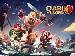 clash of clans wallpaper free clash of clans christmas update wallpaper 1928 on wallpapermade