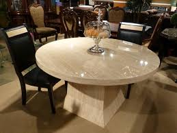 luxury round dining table clean white marble round dining table table design look elegant