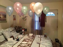 birthday bedroom decoration for boyfriend fruehlingsdeko
