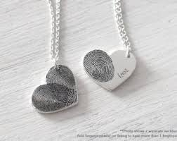 footprint necklace personalized actual fingerprint bar necklace personalized fingerprint