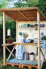 Simple Outdoor Kitchens Apartment Therapy - Simple outdoor kitchen
