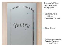 pantry door with frosted glass ultra pantry door etched glass l sans soucie
