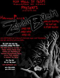 zombie party invitations u2013 gangcraft net