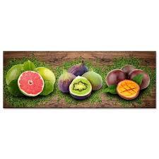 tableau pour cuisine tableau déco pour cuisine fruits vitaminés cuisine 80x30 cm