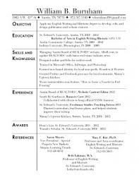 examples of resumes resume template basic objective statements