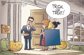 Trick Or Treat Meme - brains and eggs sunday trick or treat funnies