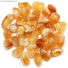 solar plexus crystals tumbled citrine brazil tumbled stones citrine healing crystals