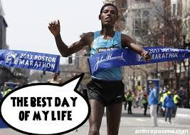 Running Marathon Meme - breaks the finish 2013 boston marathon bombings know your meme