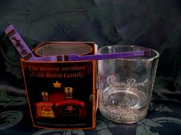 crown royal gift set crown royal whisky glass with hockey stir stick canadian whiskey