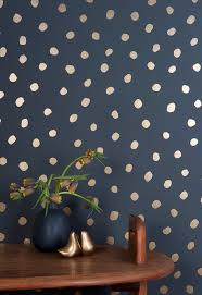 non permanent wall paper best 25 polka dot wallpaper ideas on pinterest wall stickers