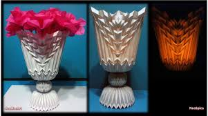 Vase To Vase Florist Folding Design Projects Flower Vase 2 Origami Papercraft
