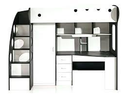 bureau cdiscount lit mezzanine 140 avec bureau lit mezzanine promo lit superpose