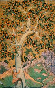 squirrels in a plane tree by abu l hasan library prints