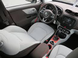 Interior Jeep Renegade 2015 Jeep Renegade Latitude With Ski Gray Bark Brown Interior
