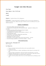 Salesperson Resume Example by Car Salesman Resume Modern Bio Resumes
