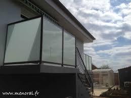 pare vent verre brise vue en verre opaque pour terrasse sedgu com