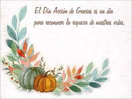 tarjeta para thanksgiving