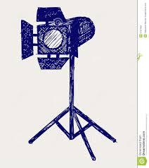studio lighting stock vector image of object equipment 27927842