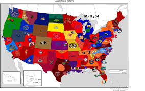 Kennesaw State Map by Reddit Cfb Fan Poll 2 0 Cfb