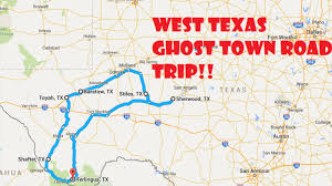 where is terlingua on a map a scary road trip through 6 ghost towns