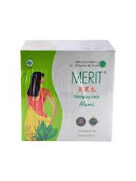 Jamu Pelangsing Merit merit pill box 10 sachet isi 210