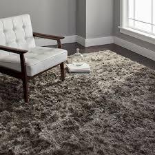 safavieh handmade silken glam paris shag silver rug 8 u0027 x 10