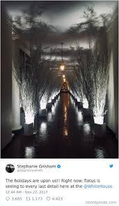 decorating in white 30 hilarious reactions to melania trump s creepy white house