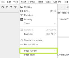 How To Make A Resume On Google Docs How To Add Page Numbers In Google Docs
