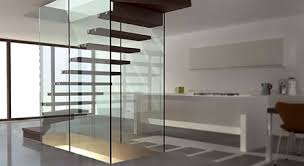 Glass Staircase Design Wood And Glass Staircases Mistral Staircase Design By Siller