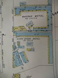 Map Of Fremont Street Las Vegas by Introduction Las Vegas Motels Then And Now