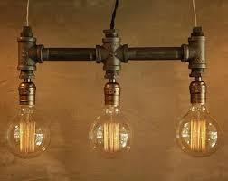 Edison Bulb Light Fixtures Edison Bulb Lighting Etsy