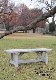 Simple Outdoor Bench Seat Plans by Best 25 Outdoor Wood Bench Ideas On Pinterest Diy Wood Bench