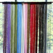 aliexpress com buy 2m 1m 12 colors string curtains door window