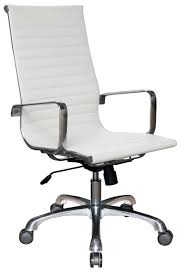 White Leather Office Chair The Office Furniture Blog At Officeanything Com New Office