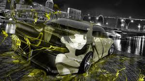 subaru impreza wrx sti jdm anime samurai city car 2015 wallpapers tuning anime aerography