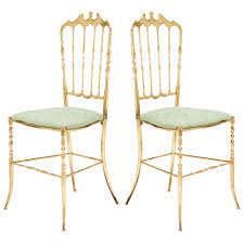 chiavari chair for sale italian vintage brass chiavari chairs circa 1950 50s 60s