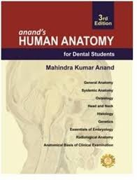 anand u0027s human anatomy for dental students 3rd edition 3rd edition