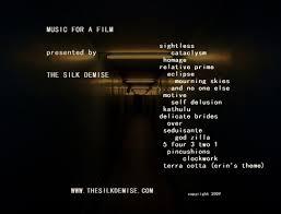album inserts album backs and inserts the silk demise