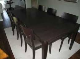 crate and barrel dining room tables crate barrel madison dining table and from krrb local