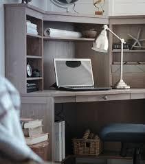 Hemnes Corner Desk Grey Hemnes Corner Desk From Ikea Really Like The Idea Of A