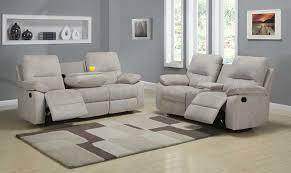 Reclining Sofa Set Homelegance Marianna Reclining Sofa Set Beige Chenille U9716 3