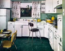 Retro Kitchen Curtains 1950s by Retro Kitchen Decor 1950s Kitchens