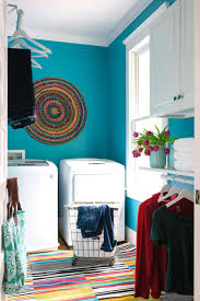 Minimalist Home Tour Colorful Laundry Rooms House Tour The Laundry Room Worthing Court